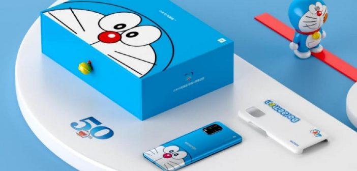 """Uno de los últimos smartphones de Xiaomi recibe una peculiar versión """"Doraemon"""". Noticias Xiaomi Adictos"""