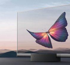 Xiaomi Mi TV LUX: así de espectacular es el nuevo televisor transparente de Xiaomi