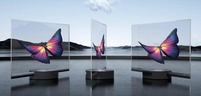 Así es como funciona el sorprendente televisor transparente de Xiaomi