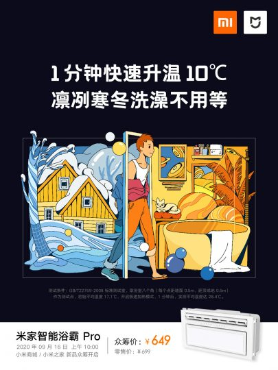 Xiaomi announces its new heater capable of increasing the temperature by 10ºC in just 1 minute. News Xiaomi