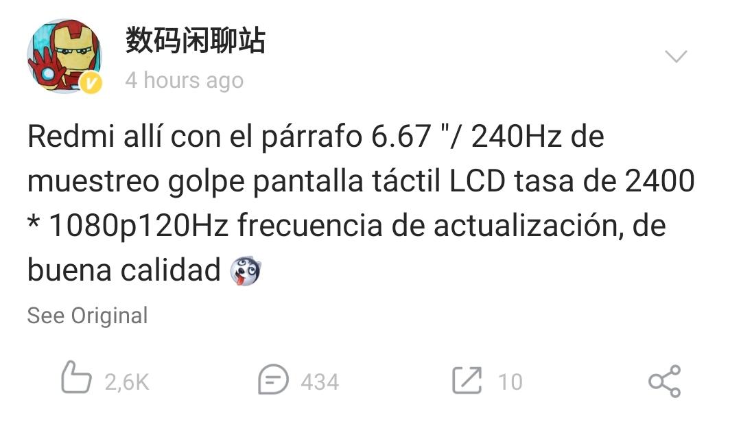 El nuevo POCO X3 no será el único Xiaomi en contar con pantalla a 120Hz a bajo coste. Noticias Xiaomi Adictos