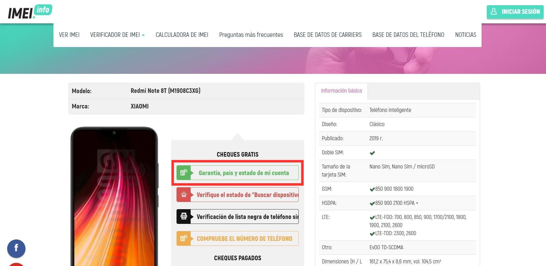 Así puedes comprobar si tu Xiaomi cuenta con garantía y en que país está registrado. Noticias Xiaomi Adictos