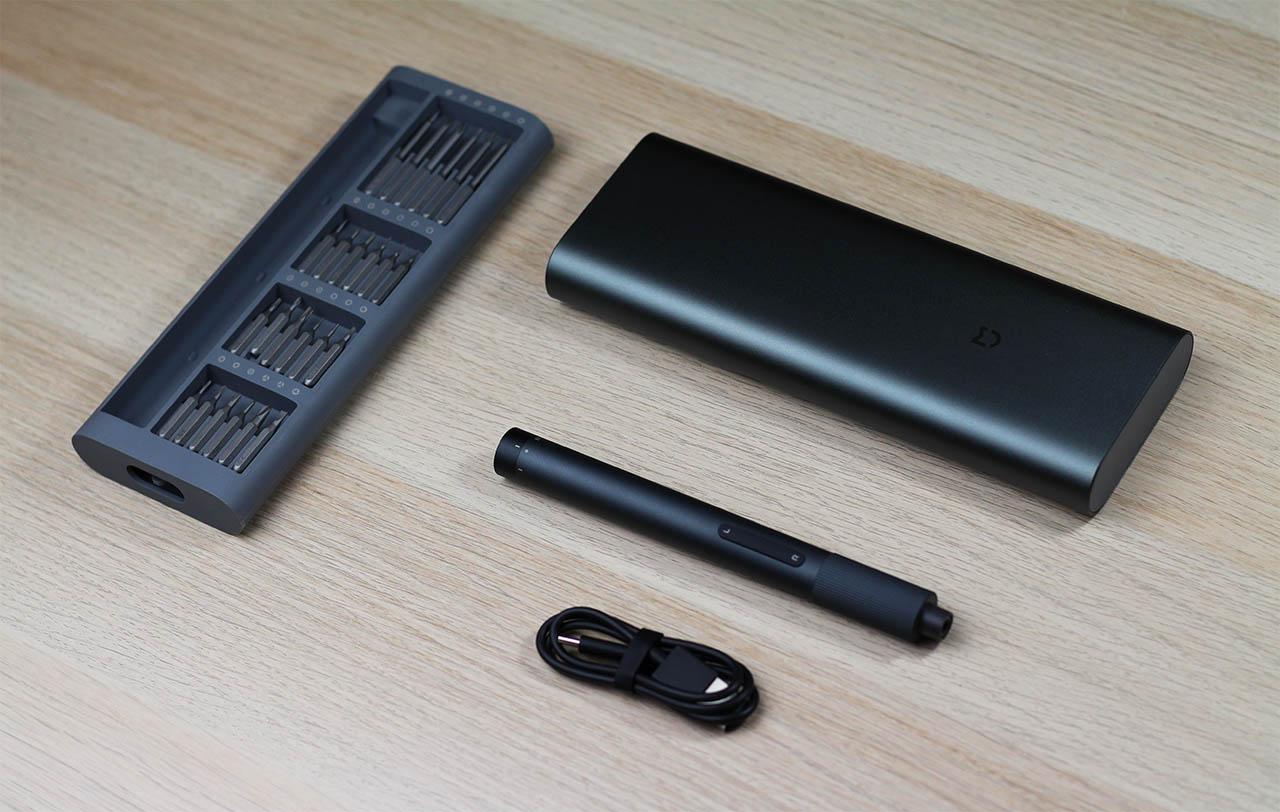 Analisis y revie del destornillador electrico motorizado de precisión Xiaomi Mijia Electric Precision Kit. Noticias Xiaomi Adictos