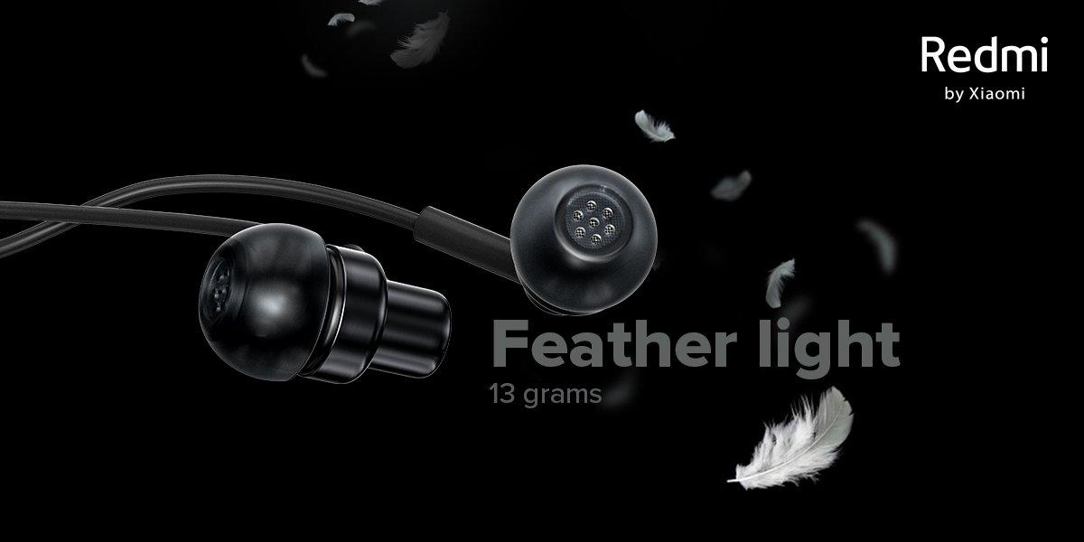 Xiaomi presenta los nuevos Redmi Earphones, auriculares baratos con certificación Hi-Res. Noticias Xiaomi Adictos