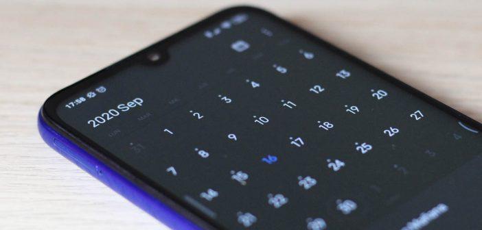 Xiaomi actualiza su aplicación de calendario con nuevas funciones que mejoran la productividad. Noticias Xiaomi Adictos