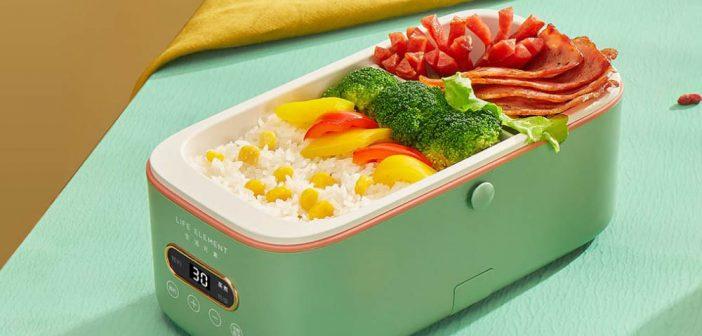 Xiaomi pone a la venta una práctica fiambrera capaz cocinar y calentar alimentos. Noticias Xiaomi Adictos