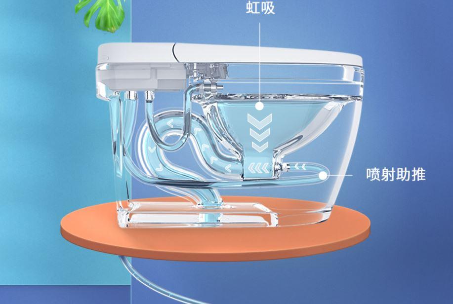 """Xiaomi pone a la venta un inodoro con el que no tendrás que """"tirar de la cadena"""". Noticias Xiaomi Adictos"""