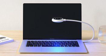 Xiaomi pone a la venta una pequeña lampara USB que además desinfecta frente al coronavirus. Noticias Xiaomi Adictos
