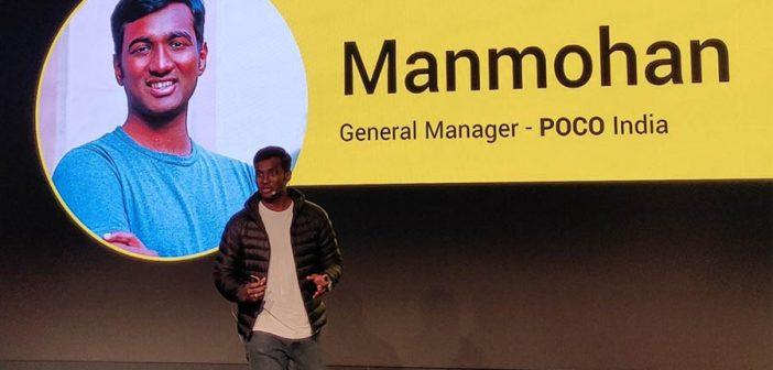 Tras éxitos como el del POCOPHONE F1, C Manmohan dice adiós a la marca en una emotiva carta de despedida