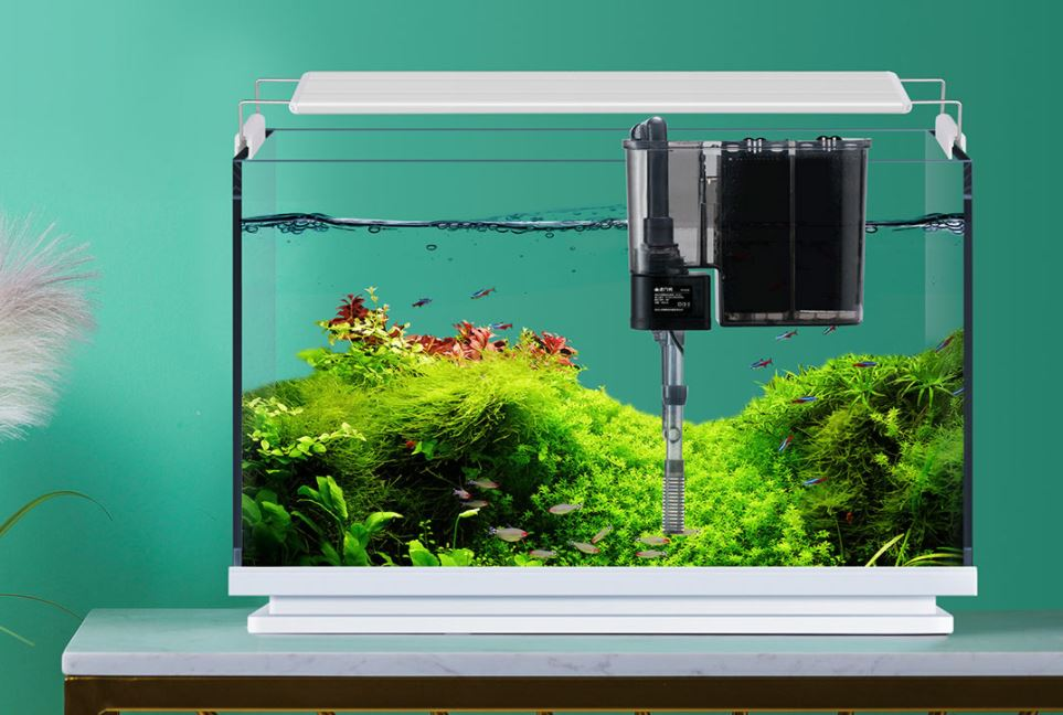 Xiaomi is selling a minimalist fish tank with LED lighting and a waterfall. News Xiaomi