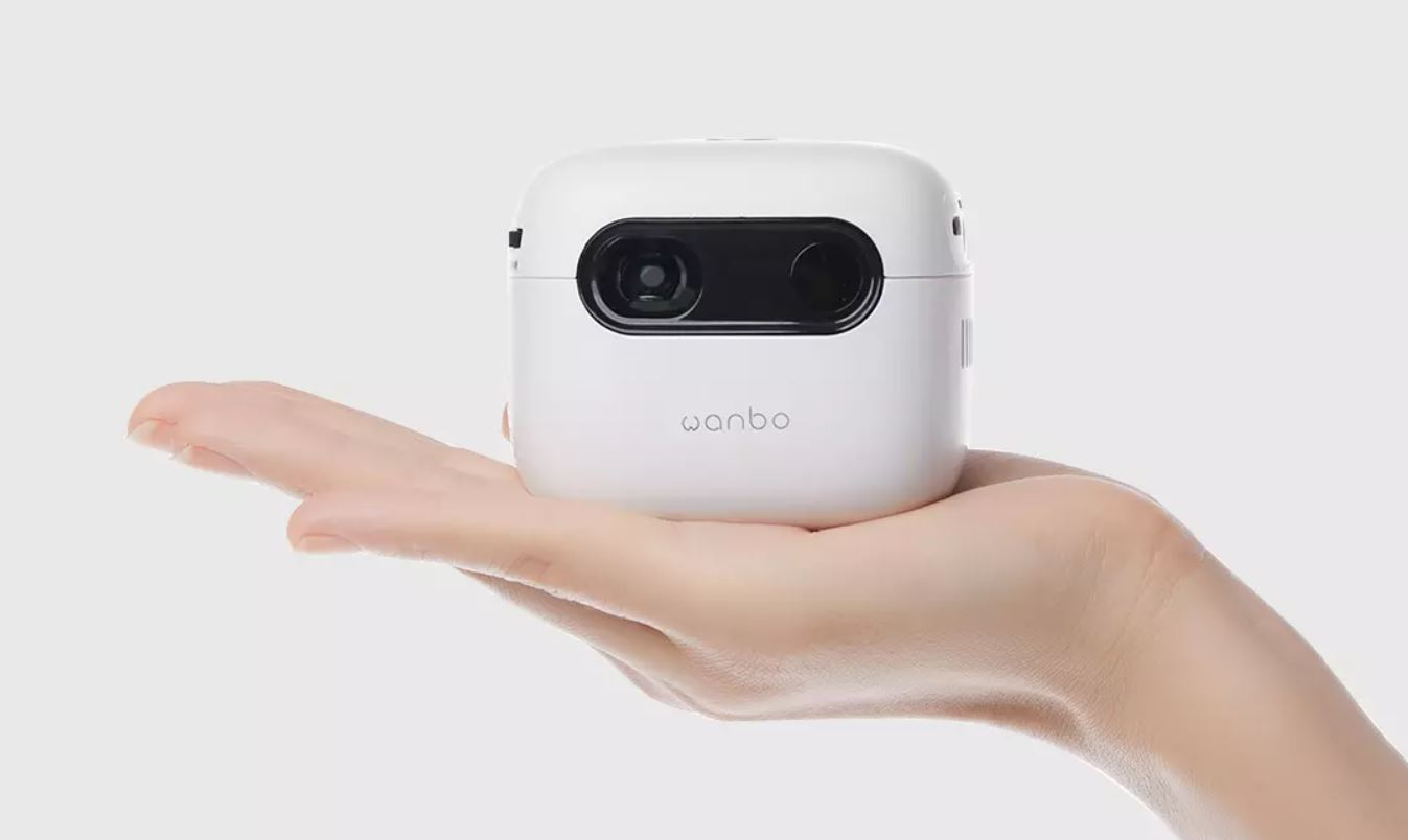 Xiaomi puts on sale a small projector with battery to use anywhere