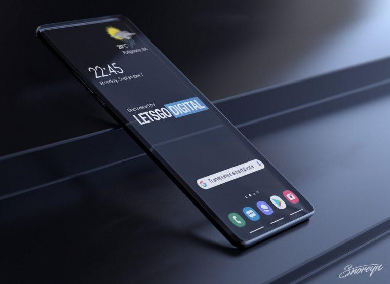 Samsung trabaja en un smartphone transparente con la misma tecnología del Xiaomi Mi TV Lux. Noticias Xiaomi Adictos