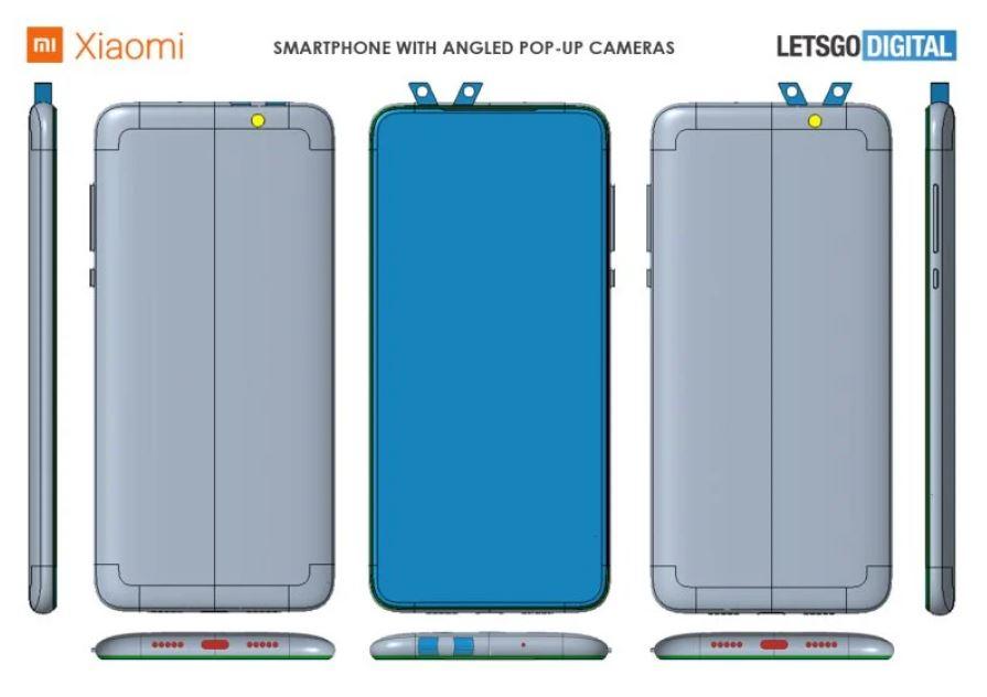 Xiaomi trabaja en un nuevo smartphone con cuatro cámaras retráctiles en ángulo. Noticias Xiaomi Adictos