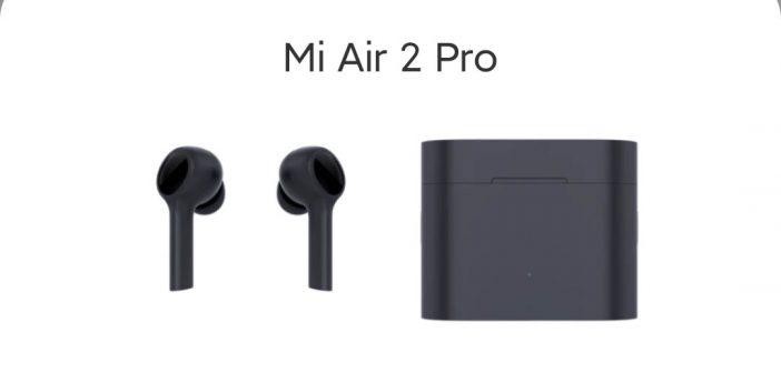 Los Xiaomi Mi Air 2 Pro se dejan ver de nuevo confirmado su diseño y características. Noticias Xiaomi Adictos