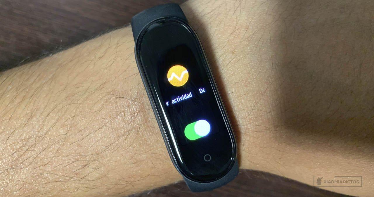 Mejorar aumentar duración batería Xiaomi Mi Band 5 autonomía. Noticias Xiaomi Adictos