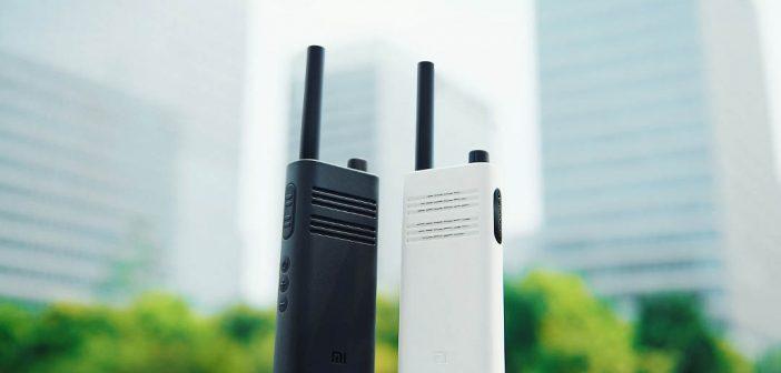 Xiaomi renueva sus Walkie Talkie más económicos permitiendo operar a 5Km de distancia. Noticias XIaomi Adictos