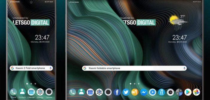 Así luciría el primer smartphone plegable de Xiaomi según su última patente. Noticias Xiaomi Adictos