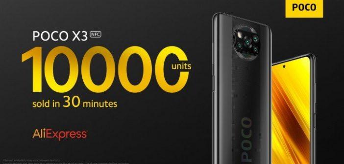 El nuevo POCO X3 ya es un superventas: más de 10.000 unidades vendidas en 30 minutos. Noticias Xiaomi Adictos