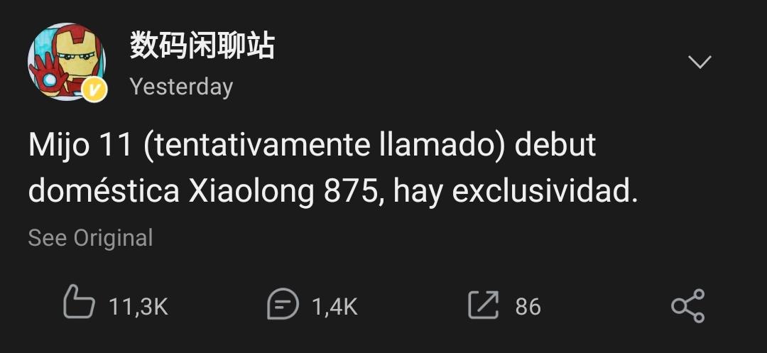 El Xiaomi Mi 11 vuelve a ser protagonista de los últimos rumores. Noticias Xiaomi Adictos