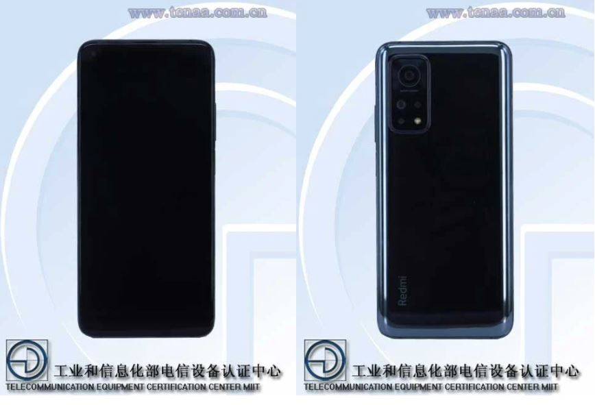 The Redmi K30S obtains its TENAA certification revealing all its features. News Xiaomi