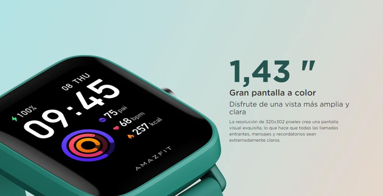 El nuevo Amazfit Bip U ya es oficial: ahora con medidor de oxígeno en sangre. Noticias Xiaomi Adictos