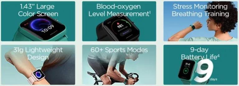 Así es el Amazfit Bip U, un smartwatch bueno, bonito, pero sobre todo, barato. Noticias Xiaomi Adictos