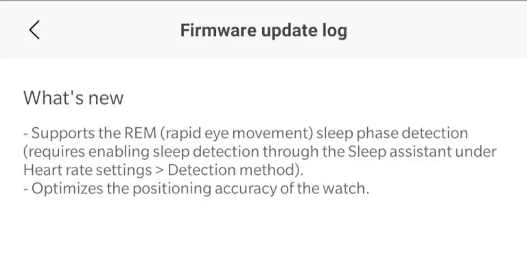 Amazfit GTR y GTS se actualizan con detección de la fase REM. Noticias Xiaomi Adictos