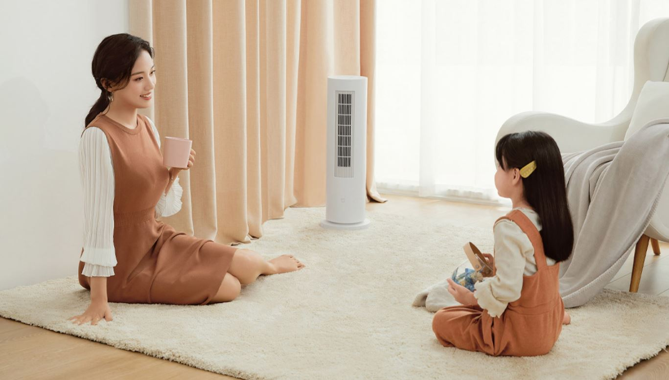 Así es el nuevo Xiaomi Mijia Vertical Heater, un calefactor vertical con control inteligente. Noticias Xiaomi Adictos