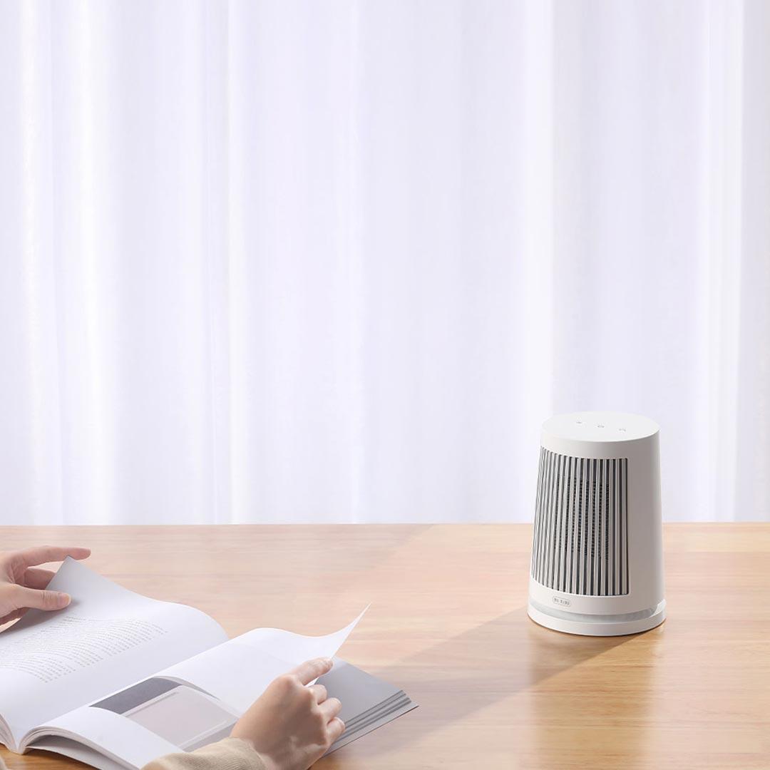 Xiaomi Mijia Desktop Heater, un nuevo mini calefactor ideal para los fríos días de inverno. Noticias Xiaomi Adictos