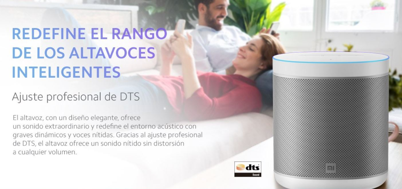 The new Xiaomi Mi Smart Speaker goes on sale in Spain with Google Assistant