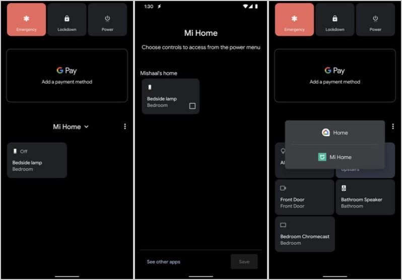 Xiaomi Home y toda su domótica se integra por completo al nuevo menú de Android 11. Noticias Xiaomi Adictos