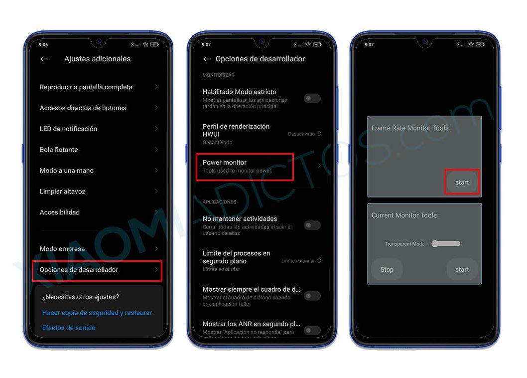 Así puedes medir los FPS y Hz en la pantalla de tu Xiaomi sin instalar nada. Noticias Xiaomi Adictos