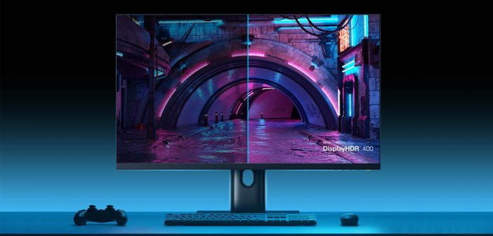Xiaomi lanza un nuevo monitor Full HD con 144Hz, HDR400 y soporte Adaptive-Sync. Noticias Xiaomi Adictos