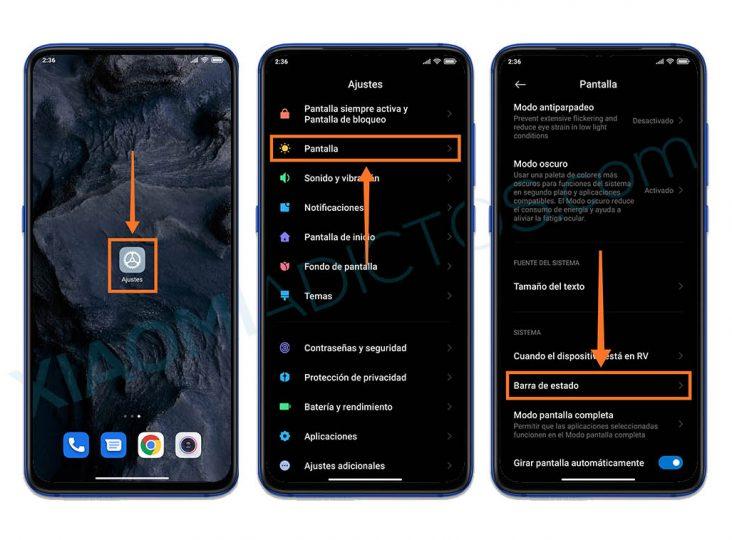 Mostrar datos consumidos MIUI 12. Noticias Xiaomi Adictos