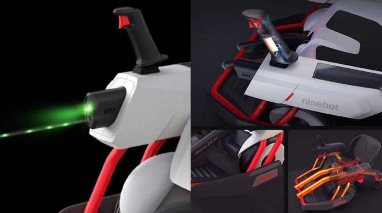 Ninebot presenta el complemento para sus scooters más curioso que hayas visto. Noticias Xiaomi Adictos