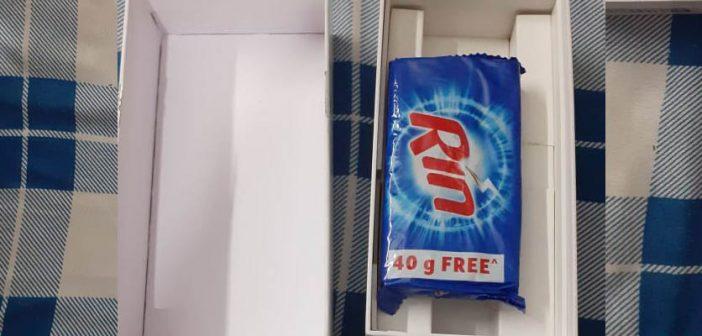 Compra un Redmi 8A y Amazon le envía una pastilla de jabón dentro de la caja. Noticias Xiaomi Adictos