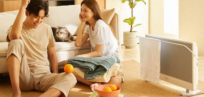 Este nuevo radiador del socio de Xiaomi también te permite secar toallas húmedas. Noticias Xiaomi Adictos