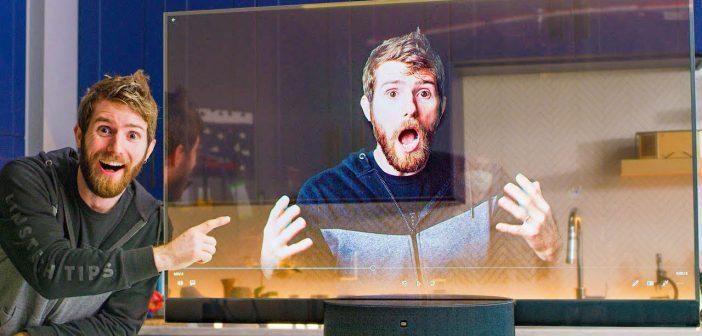 Así luce el televisor transparente de Xiaomi en uno de sus más interesantes unboxing. Noticias Xiaomi Adictos