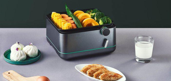Lo último de Xiaomi en Youpin es esta vaporera con la que cocinar rápida y sano. Noticias Xiaomi Adictos