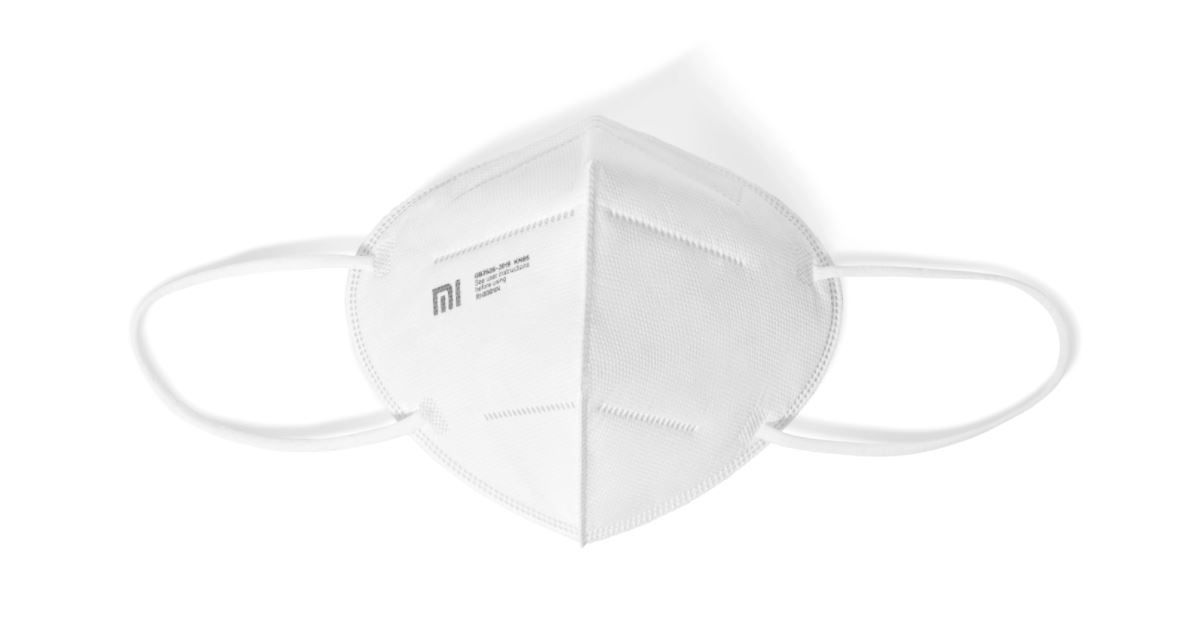This is the new Xiaomi Mi KN95, a reusable mask with anti-fogging of glasses. News Xiaomi