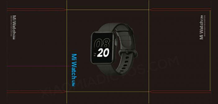 Se filtra el diseño del nuevo Xiaomi Mi Watch Lite confirmando algunas características. Noticias Xiaomi Adictos