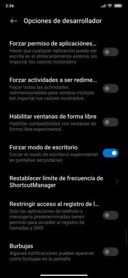 3 características para MIUI 13 modo escritorio Android. Noticias Xiaomi Adictos