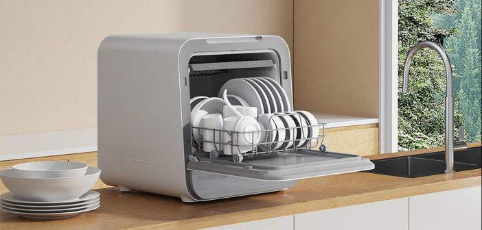 Xiaomi pone a la venta un nuevo lavavajillas de sobremesa con funciones inteligentes