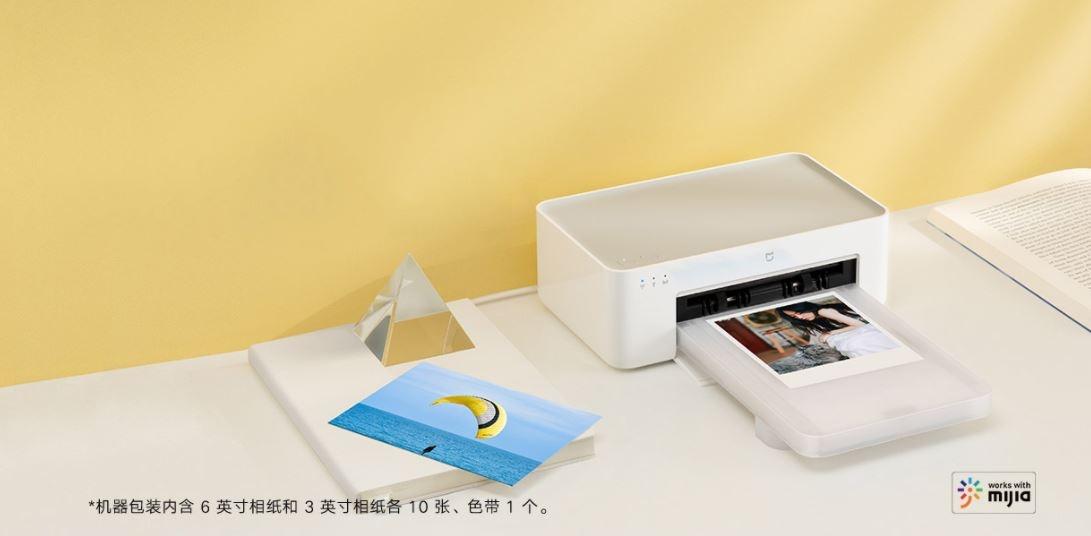 Xiaomi Mijia Photo Printer 1S, la nueva impresora para fotografías de Xiaomi