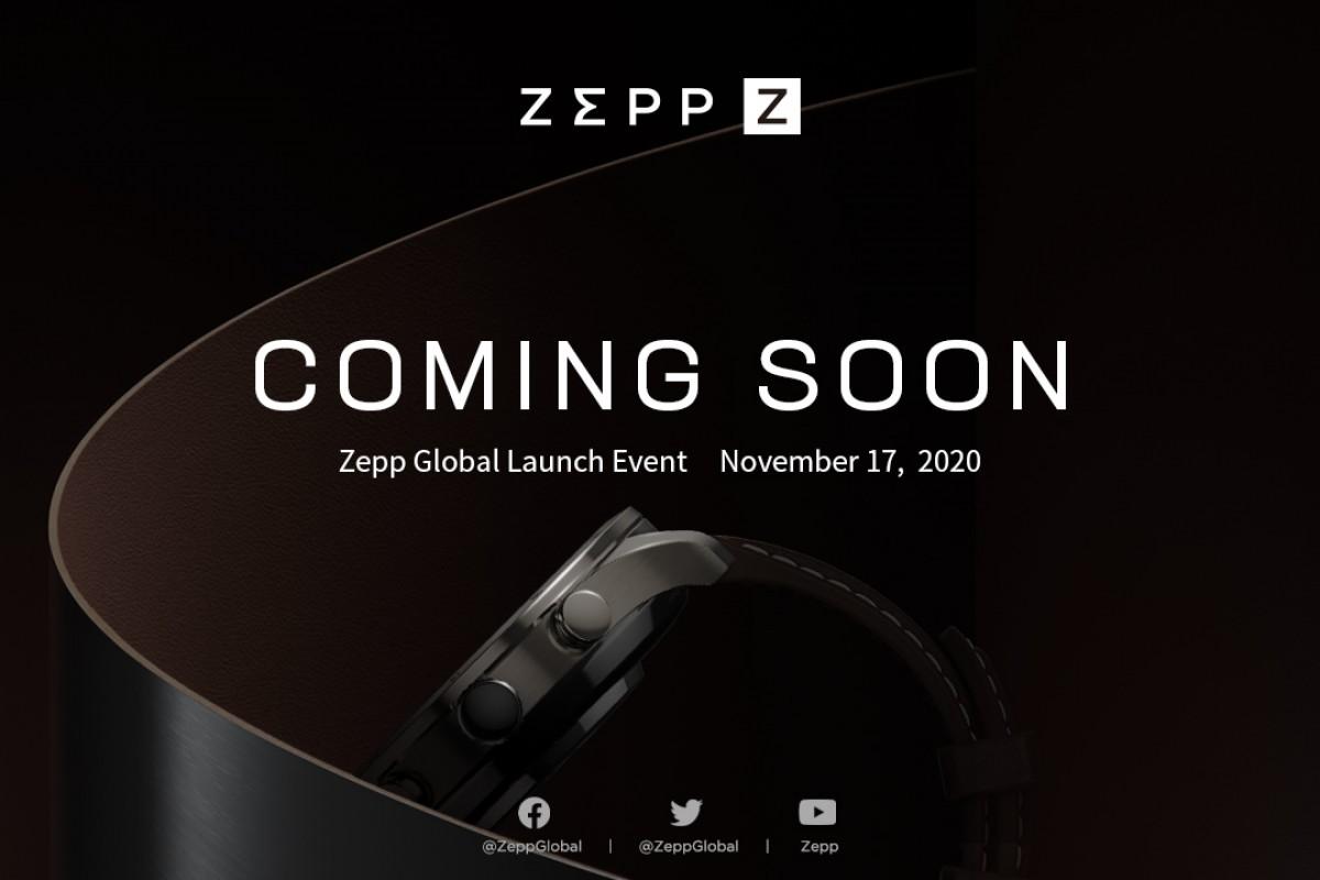 La división Zepp del socio de Xiaomi lanzará un nuevo smartwatch el 17 de noviembre. Noticias Xiaomi Adictos