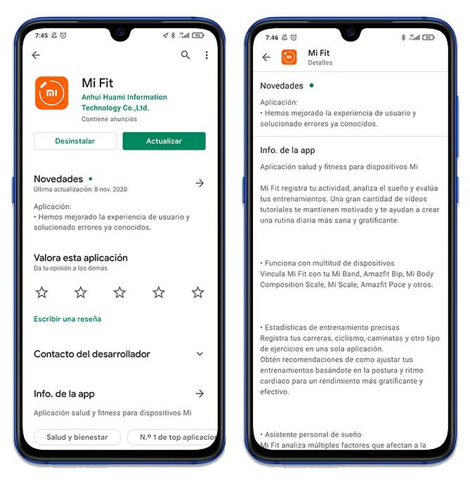 La app Mi Fit de Xiaomi se actualiza a la versión 4.7.0 con mejoras en el rendimiento. Noticias Xiaomi Adictos