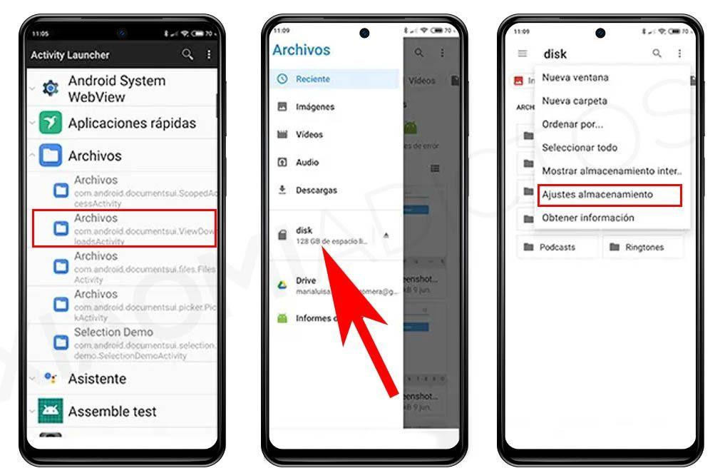 Convertir tarjeta microSD o SD en memoria interna Xiaomi. Noticias Xiaomi A