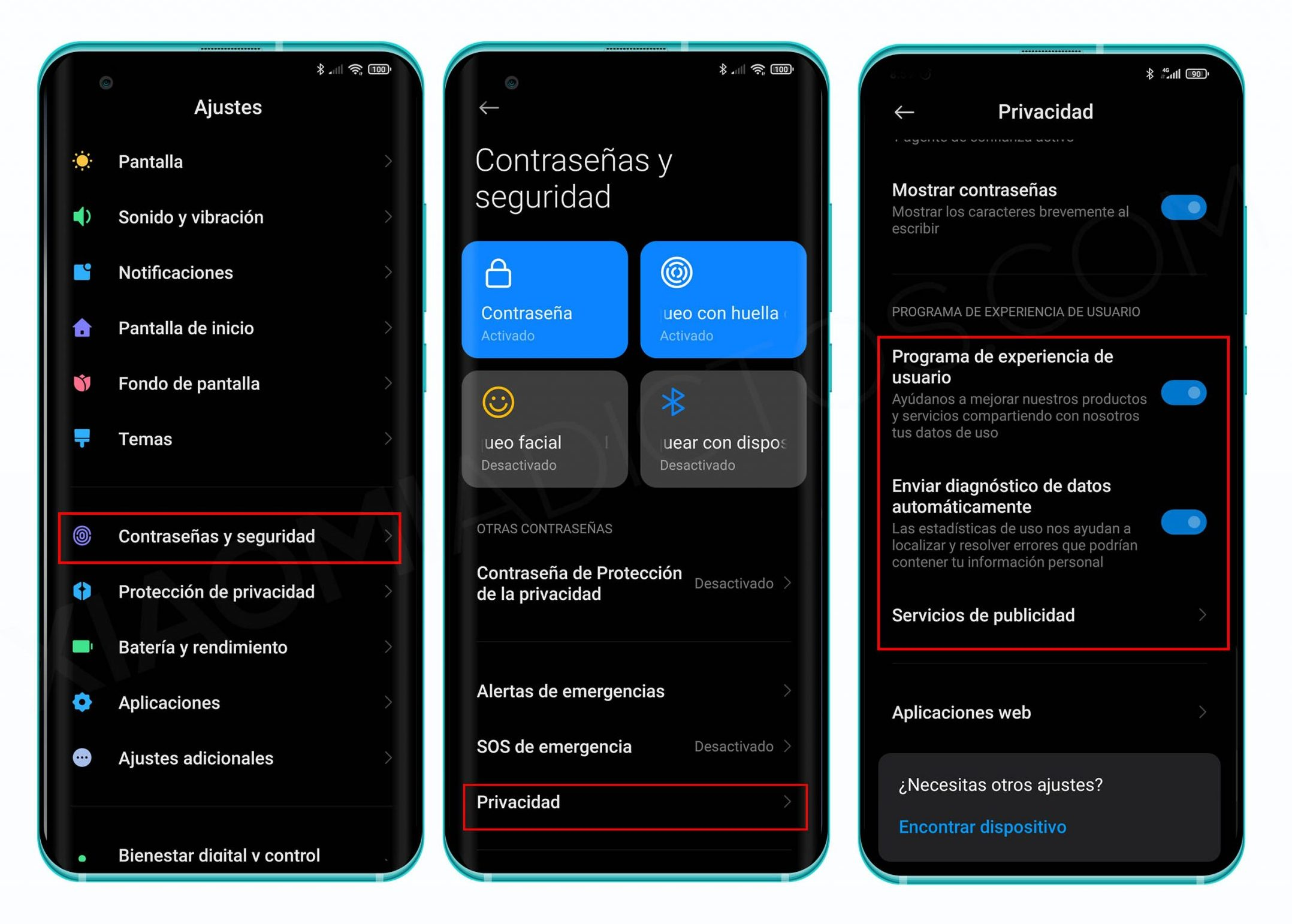 Evita que Xiaomi recopile tus datos personales con estos ajustes de MIUI 12. Noticias Xiaomi Adictos