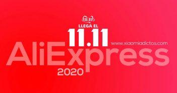 Comienza el 11.11 de AliExress: accede a las mejores ofertas, cupones y códigos descuento. Noticias Xiaomi Adictos
