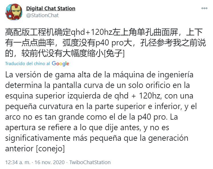 Nuevos rumores apuntan a que el Xiaomi Mi 11 contará con pantalla QHD+ a 120Hz. Noticias Xiaomi Adictos